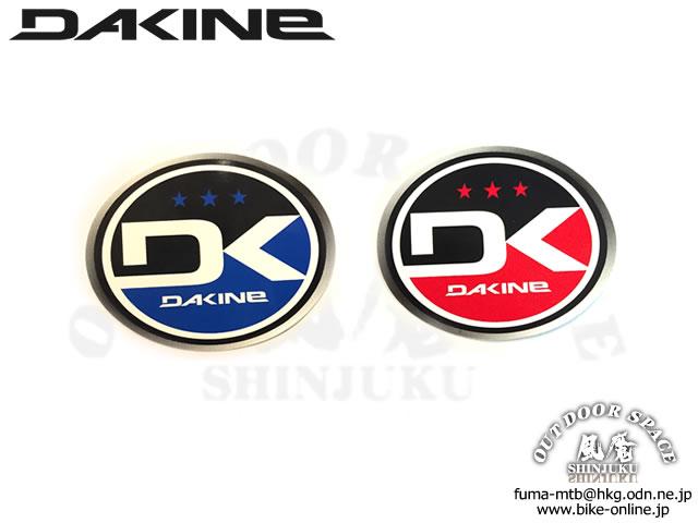 DAKINE ダカイン [ Logo Decal ] 丸型ステッカー 【GROVE青葉台】