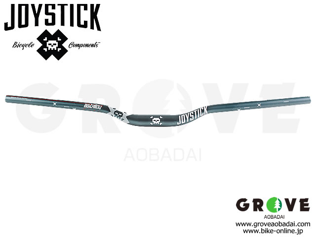 JOYSTICK ジョイスティック [ 8-Bit Alloy Bar ハンドルバー ] φ31.8mm / Platinum Grey 【GROVE青葉台】