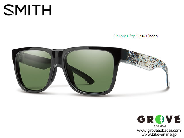 SMITH スミス [ Lowdown 2 Black Canvas Splatter ] ChromaPop Gray Green 【GROVE青葉台】 ※メーカーお取り寄せ