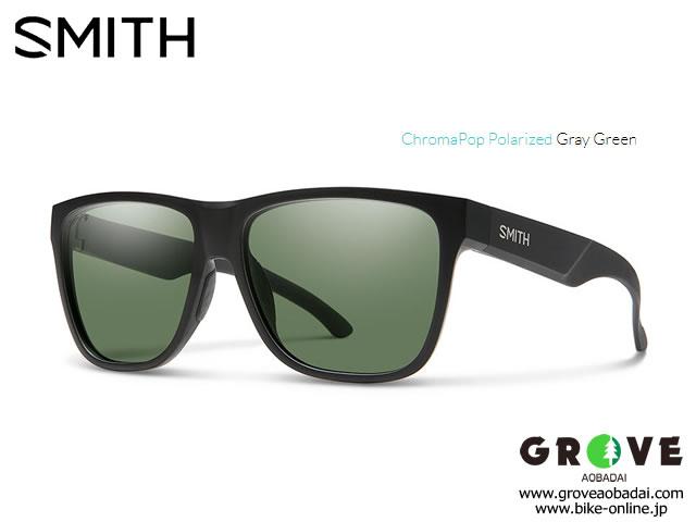 SMITH スミス [ Lowdown XL2 Matte Black ] ChromaPop Polarized Gray Green 【GROVE青葉台】 ※メーカーお取り寄せ