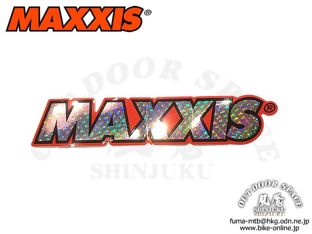 MAXXIS マキシス [ Logo Decal ] 164×31mm キラキラ・ステッカー 【GROVE青葉台】