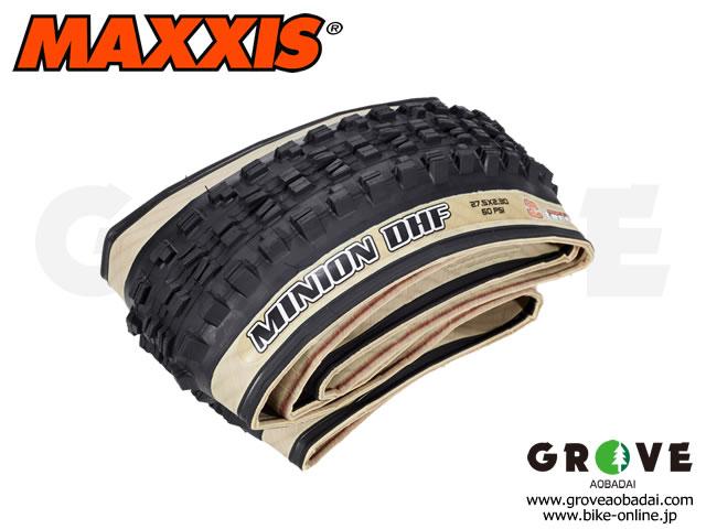 MAXXIS [ MINION DHF EXO 3C Maxx Terra TR ] ] 27.5×2.3 / Skin-sidewall 【GROVE青葉台 スペシャル】