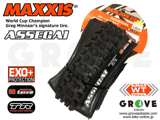 MAXXIS マキシス [ ASSEGAI アッセガイ 3C MaxxTerra TR EXO+ ] 2.5 WT 【GROVE青葉台】 ※ポイント5倍!