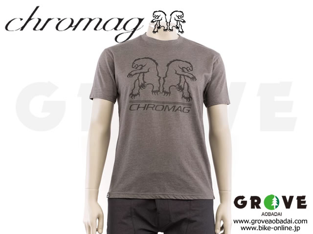 CHROMAG [ REFLECT TEE ] Charcoal Grey / Mサイズ 【GROVE青葉台】