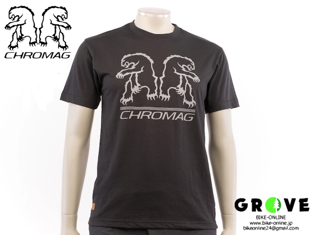 CHROMAG [ REFLECT TEE ] Black   【GROVE青葉台】