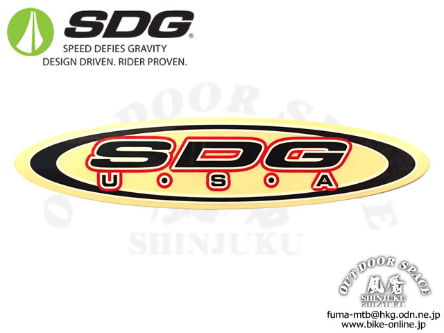 SDG [ LOGO Decal ] Clear スッテッカー 【GROVE青葉台】