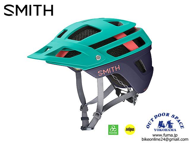SMITH [ Forefront 2 Helmet - MIPS ] Matte Jade/Deep Ink 【風魔横浜】