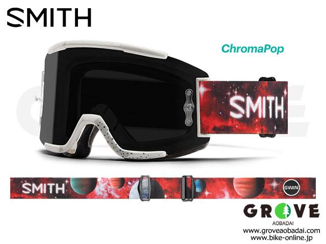 SMITH スミス [ Squad MTB Goggle ゴーグル ] Aaron Gwin AC - ChromaPop Sun Black 【GROVE青葉台】 ※ 専用ゴーグルケース無し