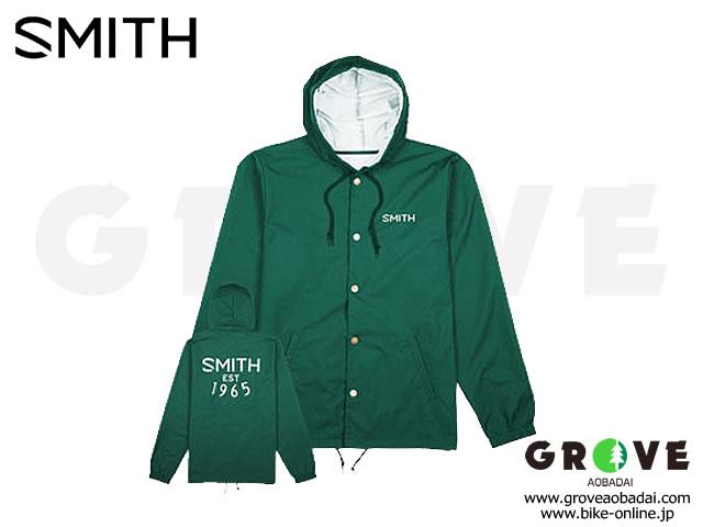 SMITH スミス [ HOODED COACHS JACKET ] ジャケット Green/Mサイズ 【GROVE青葉台】