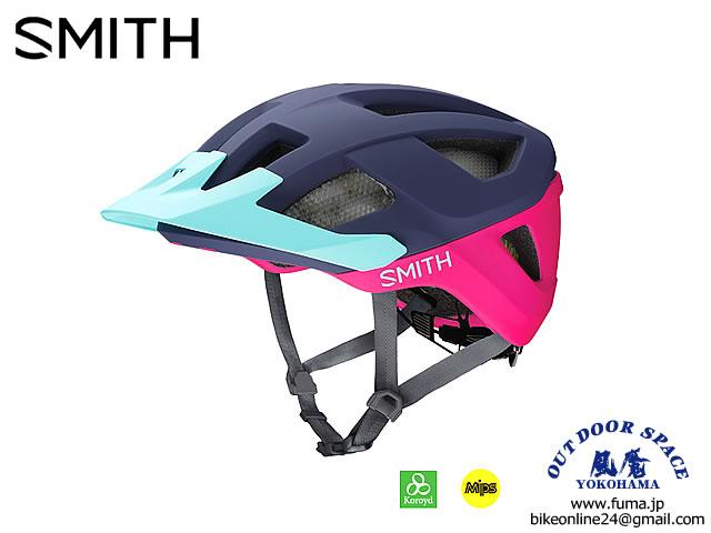 SMITH スミス [ Session Helmet - MIPS ] Indigo/Peony/Iceberg 【風魔横浜】