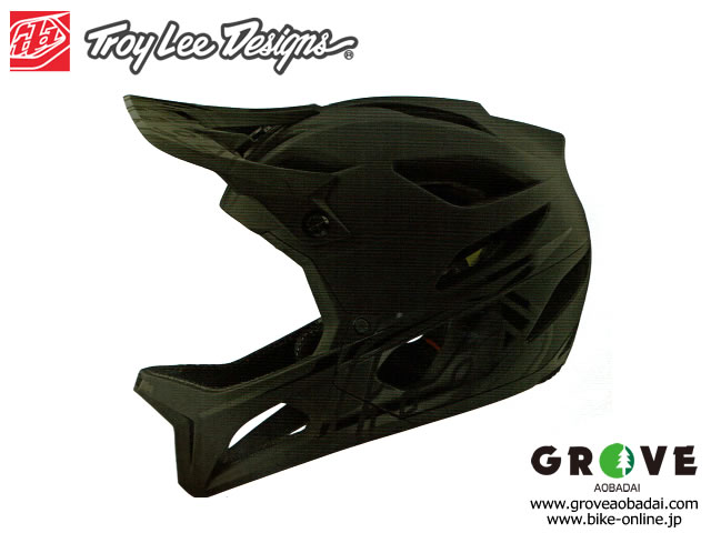 Troy Lee Designs トロイリーデザインズ [ STAGE Helmet Mips 2020 ] STEALTH - Midnight  フルフェイス ヘルメット 【GROVE青葉台】