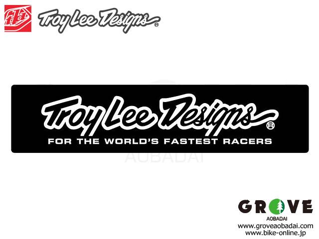 Troy Lee Designs トロイリーデザインズ [ SCRIPT ] 5.1×1.2inch ステッカー 【GROVE青葉台】