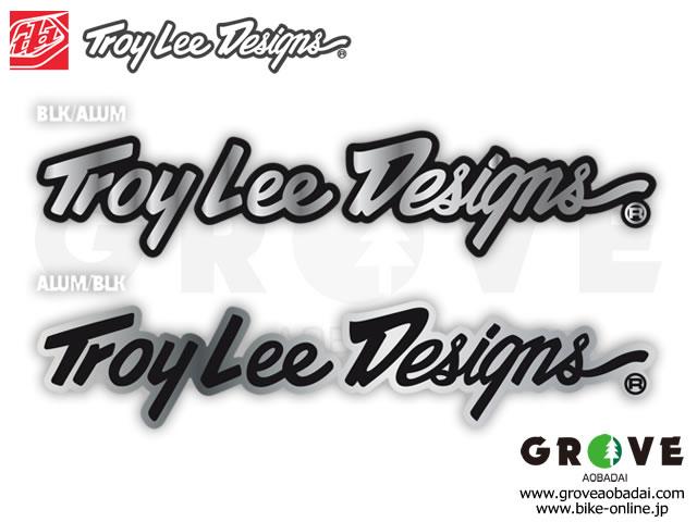 Troy Lee Designs トロイリーデザインズ [ SIGN ALUMINUM ] 10inch ステッカー 【GROVE青葉台】