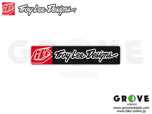 Troy Lee Designs トロイリーデザインズ [ SIGNATURE ICON  ] 5inch ステッカー / 2枚セット 【GROVE青葉台】