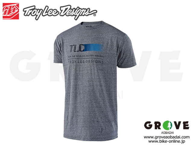 Troy Lee Designs トロイリーデザインズ [ WIRED TEE ] 2019 VINTAGE GRAY SNOW 【GROVE青葉台】