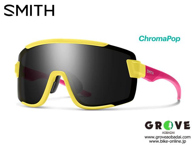 SMITH スミス [ Wildcat Matte Citron ] ChromaPop Sun Black & Clear 【GROVE青葉台】 ※メーカーお取り寄せ