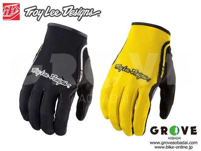 Troy Lee Designs トロイリーデザインズ [ XC GLOVE グローブ ] Black / Yellow 【GROVE青葉台】※在庫限定特価