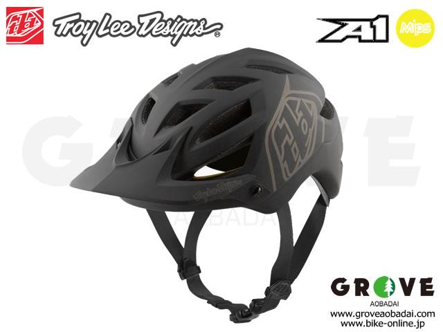 Troy Lee Designs [ A1 Helmet 2020 ] Black/Siler 【GROVE青葉台】