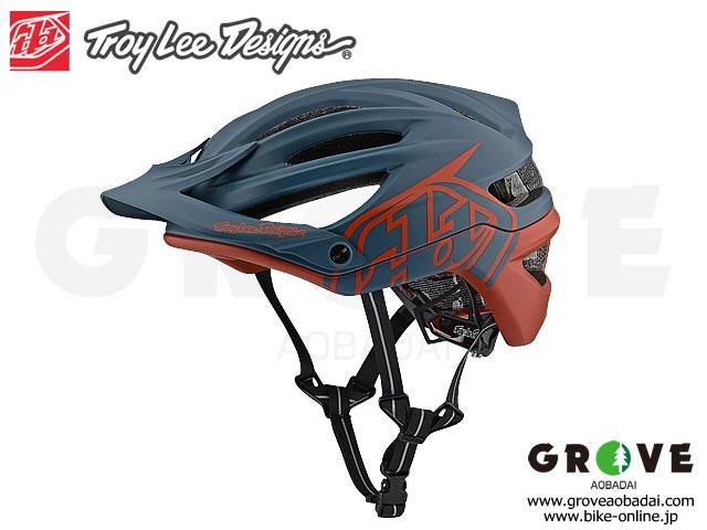 Troy Lee Designs トロイリーデザインズ [ A2  Helmet Mips 2019 ] DECOY - AIR FORCE BLUE/CLAY ハーフ ヘルメット 【GROVE青葉台】