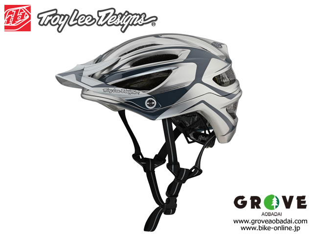 Troy Lee Designs トロイリーデザインズ [ A2  Helmet Mips 2019 ] DROPOUT SILVER ハーフ ヘルメット 【GROVE青葉台】