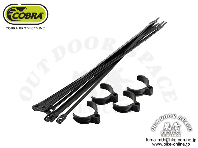COBRA コブラ [ FLEX ROUTE Universal Cable Guide タイラップ ] 4個セット 【GROVE青葉台】