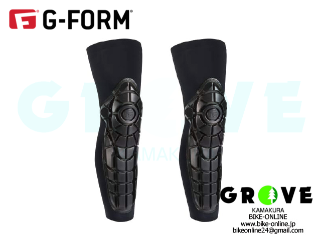 G-FORM ジーフォーム [ PRO-X ニー シン ガード ] BLACK / GRAY 【 GROVE鎌倉 】