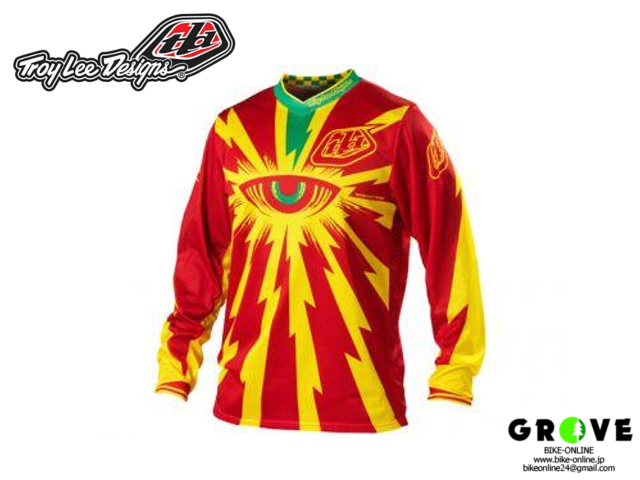 Troy Lee Designs [ GP AIR JRSY CYCLOPS RED ] 【 GROVE青葉台 】