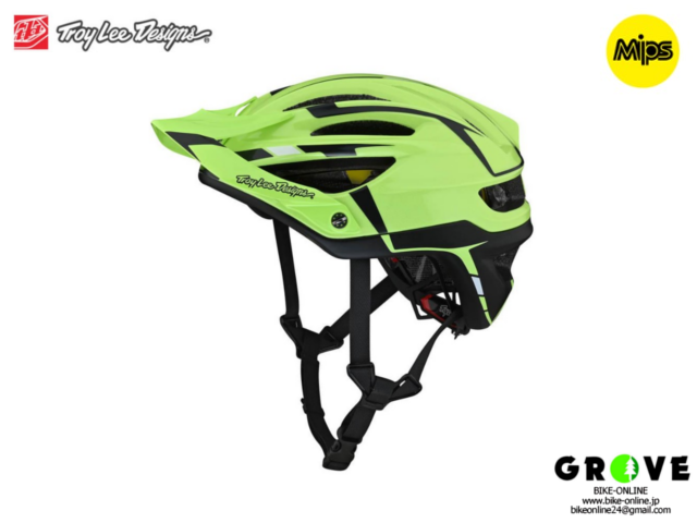 Troy Lee Designs トロイリーデザインズ [ A2  Helmet Mips 2021 ] SLIVER GREEN / GRAY ハーフ ヘルメット 【GROVE青葉台】