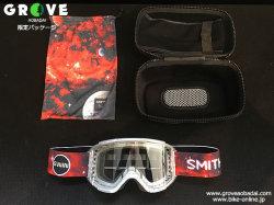 SMITH [ Squad MTB Goggle ] Aaron Gwin AC - Clear Lens 【GROVE青葉台】 ※在庫限定