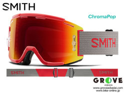 SMITH [ Squad MTB Goggle ] Rise Split - ChomaPOP Everyday Red Mirror 【GROVE青葉台】 ※日本国内未展開 サンプルモデル
