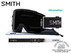SMITH スミス [ Squad MTB Goggle ゴーグル ] Brandon Semenuk  AC - ChromaPop Sun Black 【風魔横浜】