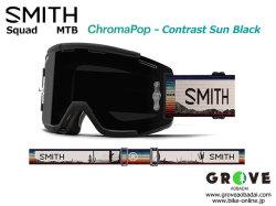 SMITH スミス [ Squad MTB Goggle ゴーグル ] AC Brandon Semenuk - ChomaPOP Contrast Sun Black 【GROVE青葉台】
