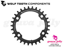 WOLFTOOTH ウルフトゥース [ Drop - Stop Chainring チェーンリング 96BCD ] for Shimano XT M8000 / 30/32/34T ブラック 【GROVE青葉台】