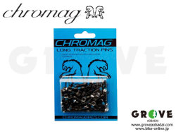 CHROMAG クロマグ [ Long TRACTION Pins ] Black / ペダル ピン 【GROVE青葉台】