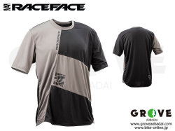 Race Face レースフェイス  [ INDY SS Jersey ジャージ ]  2018 Charcoal/Black 【GROVE青葉台】 ※在庫限定特価