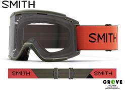 SMITH スミス [ Squad XL MTB Goggle ゴーグル ] Sage RedRock - Clear 【GROVE青葉台】