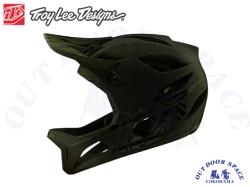 Troy Lee Designs トロイリーデザインズ [ STAGE Helmet Mips 2020 ] STEALTH - Midnight  フルフェイス ヘルメット 【風魔横浜】