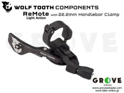 WOLFTOOTH ウルフトゥース [ ReMote Light Action with 22.2mm Handlebar Clamp ] 可変 ドロッパーシートポスト用 リモートレバー 【GROVE青葉台】