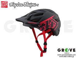 Troy Lee Designs [ A1 Helmet 2019 ] DRONE - BLACK RED 【GROVE青葉台】