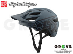 Troy Lee Designs [ A1 Helmet 2019 ] DRONE - GREY/BLACK M/Lサイズ 【GROVE青葉台】