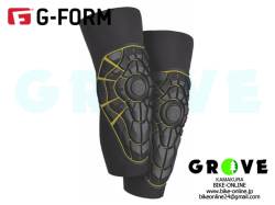 G-FORM ジーフォーム [ ELITE ニー ガード ] BLACK / YELLOW 【 GROVE鎌倉 】