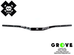 JOYSTICK ジョイスティック [ 8BIT ALLOY HANDLEBAR ハンドルバー ] φ31.8 38mm rise BLACK 【 GROVE鎌倉 】
