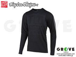 Troy Lee Designs トロイリーデザインズ [ SKYLINE LS Jersey ジャージ ] 2019 / Speed Shop Black/Black 【GROVE青葉台】