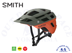 SMITH [ Forefront 2 Helmet - MIPS ] Matte Sage/Red Rock 【風魔横浜】
