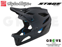 Troy Lee Designs トロイリーデザインズ [ STAGE Helmet Mips ] STEALTH - MATTE BLACK フルフェイス ヘルメット 【GROVE青葉台】