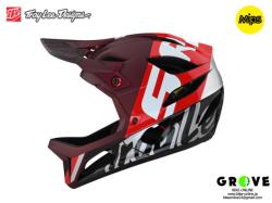 Troy Lee Designs トロイリーデザインズ [ STAGE Helmet Mips 2021 ] NOVA SRAM BURGUNDY フルフェイス ヘルメット 【GROVE青葉台】