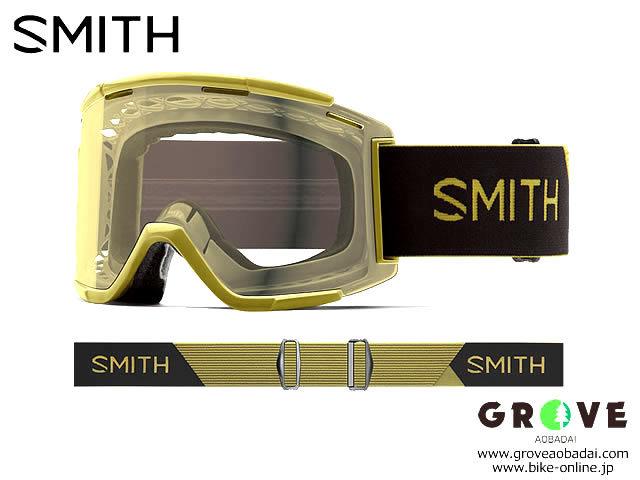 SMITH スミス [ Squad XL MTB Goggle ゴーグル ] Mystic Green - Clear 【GROVE青葉台】