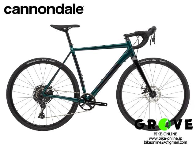 cannondale キャノンデール [ CAADX 2 ] Emerald / 46size 【 GROVE鎌倉 】