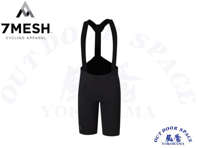7MESH セブンメッシュ [MK3 BIB SHORT MEN'S] M/BLACK 【風魔横浜】