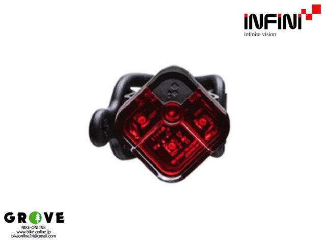 INFINI インフィ二 [ ARIA I-220R ] 3 RED LED  電池式 リアライト 【 GROVE青葉台 】